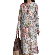Linen Midi Dresses for Women