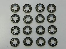 16 X lawn mower  wheel retainer push speed clips heavy dty suit honda rover