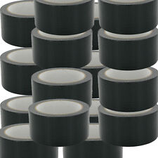 More details for new black gaffa gaffer cloth duck duct tape 48mmx50m weatherproof packaging uk56