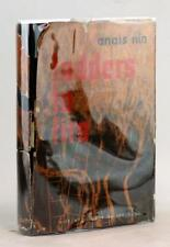 Signed Anais Nin First Edition 1946 Ladders To Fire Hardcover w/Dustjacket