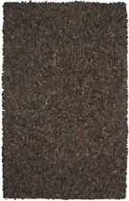 """Pelle Collection Leather Shag Rug 30"""" x 50"""", 10 Color Options. LD20"""