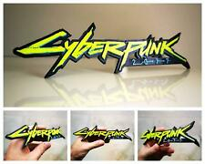Cyberpunk 2077 3D logo / shelf display / fridge magnet - gaming collectible