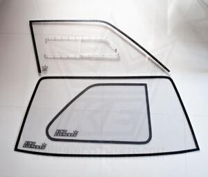 Polycarbonate window kit BMW e30