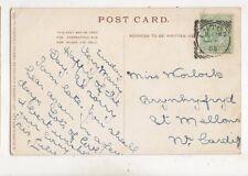 Miss Worlock Brynhyfryd St Mellons Cardiff 1905 426b