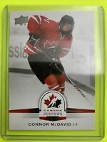 2014 Upper Deck Team Canada Juniors #99 Connor McDavid Edmonton Oilers PreRookie