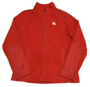 Oobe Chick Fil A Womens Medium Team Style Red Fleece Jacket