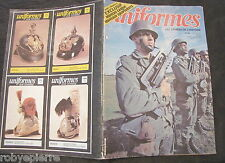 UNIFORMES LES ARMEES DE L'HISTOIRE 60 1981 UNIFORME rivista in francese vintage
