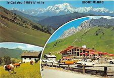 BR4524 Le Col des Aravis Altitude 1500 metres et la Chaine du Mont Blanc france