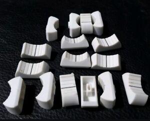 1 WHITE Slider Knob part for Behringer model MX3282A & MX2442A Eurodesk Mixer
