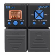 New! ZOOM Guitar Multi Effects Processor G1on from Japan Import!