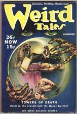 Weird Tales Nov 1939 Bradbury letter to Editor; Finlay Cvr; Henry Kuttner; S....
