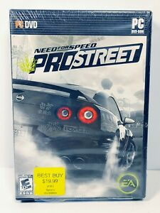 Need for Speed: ProStreet (PC, 2007) FACTORY SEALED Video Game Arcade Racing