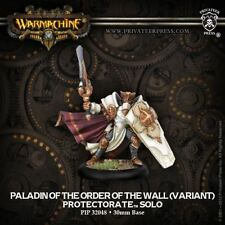 WARMACHINE Protectorate of Menoth PIP32048 Paladin of the Order Of Wall Variant