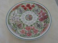 Wedgwood Collectors Calendar Plate 2004 Seasons Flowers