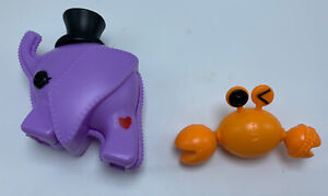 Lalaloopsy Elephant and Crab Friend lot -
