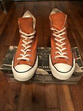 Vintage Orange 1970's Chuck Taylor's All Star Converse Sneakers