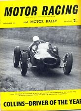Motor Racing - BRSCC journal - magazine - November 1956