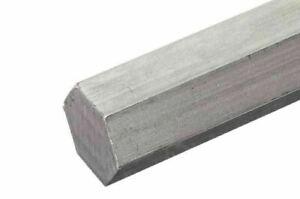 Sechskantstange Stahl Sechskant Stange 4mm-50mm 6-kant Fe Vollmaterial <2 Meter