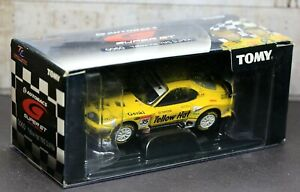 Tomica Limited Autobacs TL-0060 Toyota Supra Yellow HAT YMS Super GT GT500 2005