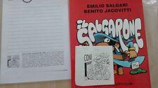 BENITO JACOVITTI IL SALGARONE EDIZIONE SPECIALE 1997 CON DISEGNO ORIGINALE