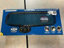 """TV InvenTel HD Mirror Dash Cam 2.5"""" LCD HD 720P Video 350 degree camera New"""