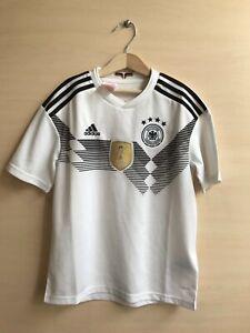 5+/5 Kids Deutschland 2018/2019 Home Sz M Germany shirt jersey soccer 11-12 year