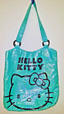 2012 Hello Kitty Bag in Good Condition in Teal and Multi Colored by Sanrio of NY
