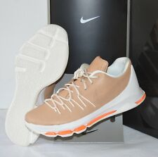 4986d5e6d15c New  200 Nike KD 8 EXT Vachetta Tan Sail Total Orange Kevin Durant sz 11.5  Zoom