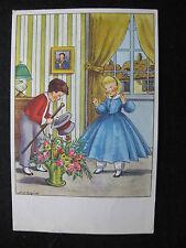 CPA  vintage scène enfantine jeux d'enfants
