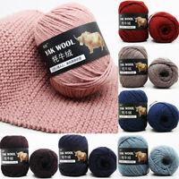 100g Crochet Yarn Hand Knitting Yarn Soft Wool Yarn For Gloves Sweater Craft DIY