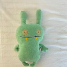 "Ugly Doll Classic Moxy Mint Green 17"" Plush Stuffed 2 Eyes Bunny Ears Pillow '06"