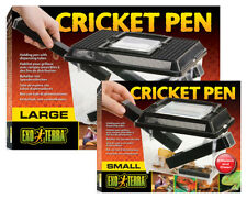 Exo Terra Cricket Pens with Dispensing Tubes (Small/Large) Reptile Feed Holding