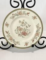 "Minton Jasmine Salad Dessert Plate Fine Bone China England Royal Doulton 8"" Dia"