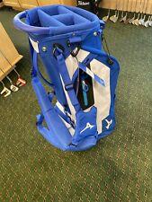 Mizuno Golf Bag New Blue White Staff Stand Version