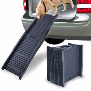 Foldable Pet Ramp Anti-Slip Dog Ladder Stair Step for Car SUV Truck