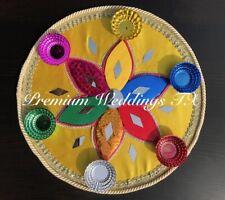 Mehndi Plates, Mehndi Thaali, Mehndi Thaal, Haldi, Shaadi, Wedding Decor, Mehndi