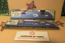 Kingston HyperX 2GB (2x1GB) PC2-5300 DDR2 DIMM PC RAM Memory-Tested