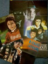 3x Large Original 90s Retro Michael Jackson Magazine Centrefold Posters