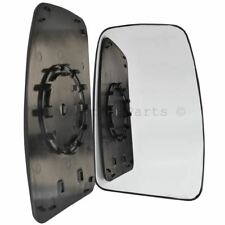 Brand New Right / OS wing door mirror glass for Vauxhall Movano 2010-2017 upper