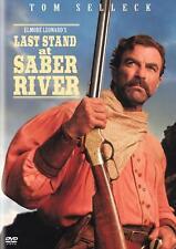 LAST STAND AT SABER RIVER Movie POSTER 27x40 Tom Selleck Suzy Amis Rachel Duncan