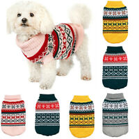 Haustier Hund Mantel Jacke Winter Warm Welpen Katze Pullover Weste Coat Kleidung