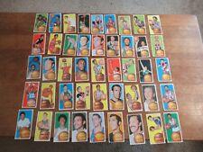 1970 TOPPS BASKETBALL 45 CARD STARTER SET MOST HIGHER GRADE NO DUPLICATES!!