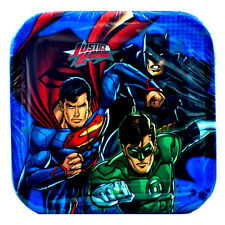 Dc Comics Justice League Super Heros Dessert Plates Birthday Party Supplies