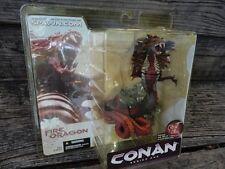 CONAN THE BARBARIAN- Conan Fire Dragon Series 1 Action Figure McFarlane *NEW