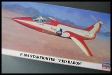 HASEGAWA F-104 STARFIGHTER 'Red Baron' 1:72 Model Kit
