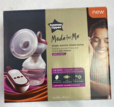 Tommee Tippee Made for Me Single Electric Breast Pump, White