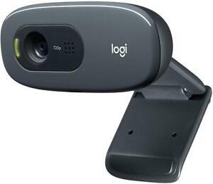 Logitech C270 Laptop or Desktop Webcam HD Built-in NoiseReducing and Widescreen
