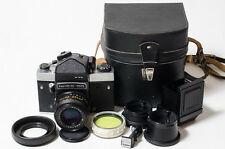Kiev-60 TTL + MC Volna-3 2.8/80 lens medium format 6x6 Soviet film camera. MINT