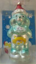 Care Bear Les Câlinours Star Bear Christmas Ornament Glass New Original Box