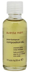 Aveda Men Oil Pure-Formance Composition Oil 1 Oz 30 Ml New Discontinued